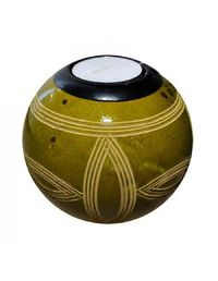 Green monkeyball tealight holder $35.00