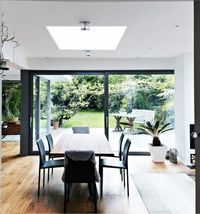 A house in London which is modern in style and is in tune with its surroundings.