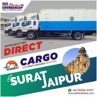 Introducing Direct Cargo for Fast Luggage Services from Surat to Jaipur  Introducing Direct Cargo for Fast Luggage Services from Surat to Jaipur #cargoservices  #fastdelivery Visit us at:- http://shrinathbus.com/
