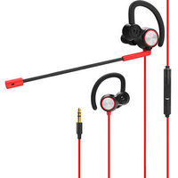 Wired Stereo Bass Vibration Gaming Earphone In-ear 3.5mm Jack Dual Moving Unit Headset With HD Mic