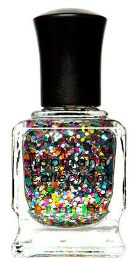 Photo from Nordstrom I feel that this confetti-filled nail polish from the Lippmann Collection, the color appropriately called Happy Birthday, would m...