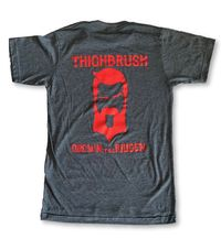 "THIGHBRUSH® BIKERS - ""Grown to be Ridden"" - Men's T-Shirt - Charcoal Grey"