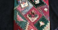 I � crazy quilting . . . MyStuff 060- By Leslie