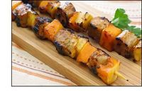 Grilled Apple 'n Squash Sausage Kebabs Ingredients: Glaze 1/4 cup low-sugar apricot preserves 1 tbsp. reduced-sodium/lite soy sauce Kebabs 2 cups butternut squash cut into 1-inch cubes (see HG Tip!) 2 cups apples cut into 1-inch chunks 12 oz. ...