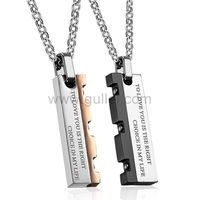 Gullei.com Custom Name Relationship Couples Necklaces Set https://www.gullei.com/couples-gift-ideas/matching-couple-necklaces.html