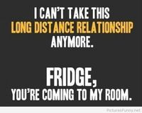 Funny quote about long distances