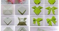 origami bows - I'llpostthis for next xmas, but never have the patience to actually try it :p