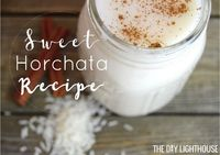 Homemade horchata recipe. Ingredients list and easy directions for how to make your own. Sweet, chilled Mexican horchata drink made with rice + cinnamon.